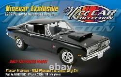 1969 Plymouth 426 Hemi Nice Car Drag Race Barracuda Cuda Acme 118 Nhra Hurst