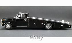 1970 Ford F-350 Ramp Truck Drag Race Car Hauler Black Acme Vintage Gmp Diecast