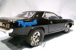 1971 Plymouth Hurst 96 Fait Nice Voiture Hemi Cuda Black Drag Race Nhra 118 Acme
