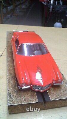 70 1/2 Split Bumper Chevy Camaro Prêt À Courir Drag Voiture Wow