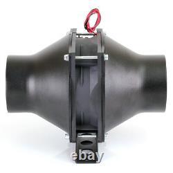 76mm (3) Souffleur En Ligne Automotive Fume Extractor Drag Drift Race Rally Car