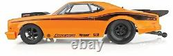 Asc70025 Orange 1/10 Dr10 2wd Drag Race Car Brushless Rtr No Battery & Chargeur
