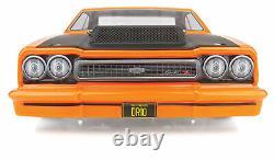 Asc70025c Orange Dr10 Rtr Brushless Drag Race Car Combo Avec Batterie & Chargeur
