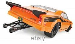 Associé 70025c 1/10 Dr10 Drag Race Brushless Sur Route 2wd Voiture Rtr Orange