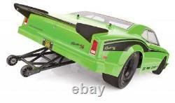 Associé 70026c Dr10 1/10 2wd Sans Brushless Drag Race Car Rtr Green Avec Batt/chrger