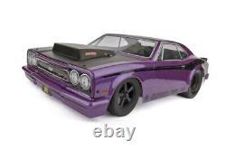 Associé 70028c Dr10 1/10 2wd Brushless Drag Race Car Rtr Purple Avec Batt/chrgr