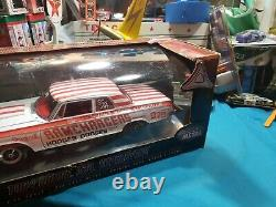 Autoroute61,1964 Dodge 330 Superstock, Ramchargeurs, 118 Voitures De Modèle Diecast À L'échelle