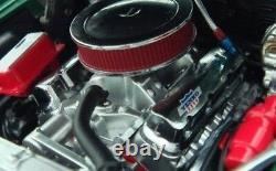 Classic 1969 69 Camaro Chevy Chevrolet Construit 1 Vintage Drag Race 24 Modèle De Voiture 12
