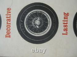 Compteur Speed Shop Des Années 1960 Afficher Haut Tyre Marque Drag Racing Hot Rod Muscle Car