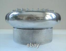 Cool Vintage Cal Custom 4 Bbl. Scoop Air Cleaner Hilborn Finned Aluminium Nice