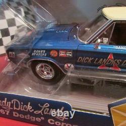 Dcp/pye, 1967 Dodge Coronet R/t, Dick Landy, Super/ Stock, 118 Échelle Diecast Voiture