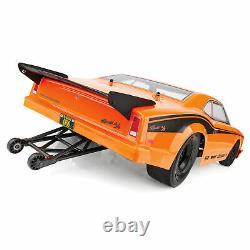 Équipe Associée 1/10 Dr10 2 Roue Drive Drag Race Car Brushless Rtr Orange
