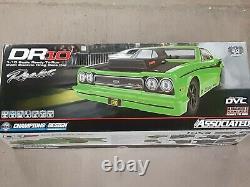 Équipe Associée Dr10 Rtr Brushless Drag Race Car Green 70026 Neuf