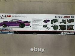 Équipe Associée Dr10 Rtr Brushless Drag Race Car (purple) Avec 2,4ghz Radio & DVC