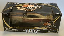 Ertl, 1968 Dodge Charger R/t, Dick Landy 50 Ans. Hemi, Numéro 9,118 Diecast G