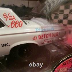 Ertl, Dcp/supercar, 1965 Plymouth Hemi, Belvédère, Drag Car, 118 Sc. Modèle Diecast