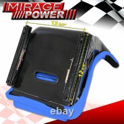 Full Bucket Automotive Sièges De Course Spg Profi Style Avec Sliders Bleu Cloth