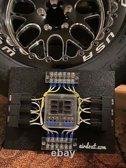 Fusible De Voiture De Course/ Panneau Relais Bloc 6 Way Ls Swap Custom Universal Lsx Drag Harness