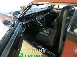 Gmp 1/18 Ford Fairlane 1967 Pork Chop Scarelane II Drag Racing Diecast Modèle De Voiture