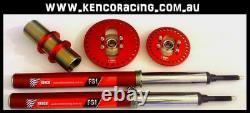 Holden 120 Pcd 15x7 Al Beadlock Rims 3 Piece Speedway Drag Car Race 4wd