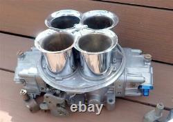 Holley Dominator Carburetor 3 Pouces Velocity Stacks Ensemble Complet Avec Boulon & Griffe
