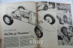 Hot Rod Magazine 1950 Scta Bonneville 1932 Ford Flatead Drag Racing Vtg Vieille Auto