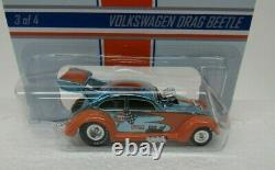 Hot Wheels 2013 Rlc Gulf Racing Volkswagen Drag Beetle Avecprotector 1247/4000