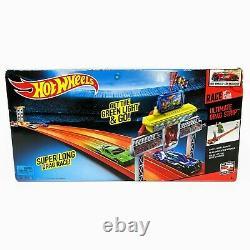 Hot Wheels Race Ultimate Drag Strip Track Set Avec Voiture Sealed Box