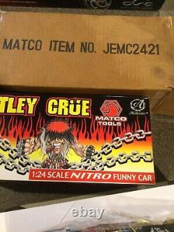 Jim Epler 124 Diecast Nitro Funny Car Motley Crue Nhra Drag Racing 1 De 3000