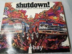 Kool Shutdown Plymouth Gtx Roadrunner Drag Race Voiture Ensemble Nos