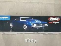 Losi 22s'69 Camaro No Prep 1/10 Rtr Brushless Drag Race Car Blue Los03035t2 Nouveau