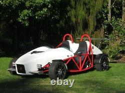 Motor Racing, Rallye, Drag /car, Kart-rear Wing /spoiler Goe222airfoil1.12mtr Alu