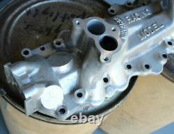Navarro Dual Carburetor Intake Manifold Pour Flathead V8 Hot Rod Custom Scta 2x2