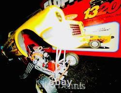 Nhra 124 Diecast Pisano & Matsubara Top Carburant Nitro Funny Car Drag Racing Vega