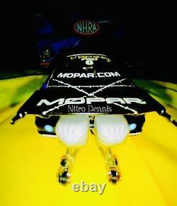 Nhra Allen Johnson Pro Stock 124 Diecast Drag Racing Voiture Mopar Dodge Rare