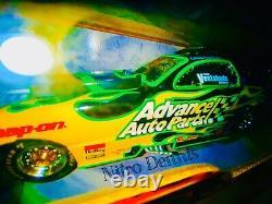 Nhra Cruz Pedregon 124 Diecast Nitro Funny Car Fast & Furious Drag Racing Rare