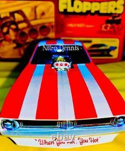 Nhra Don Cook 124 Diecast Damn Yankees Top Carburant Nitro Funny Car Drag Racing