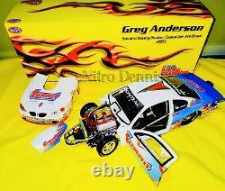 Nhra Greg Anderson Pro Stock 124 Diecast Sommit Drag Racing Car Nitro Dennis