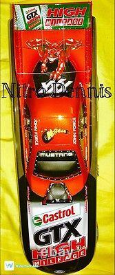 Nhra John Force 116 Action Nitro Funny Car Diecast Halloween Drag Racing Rare