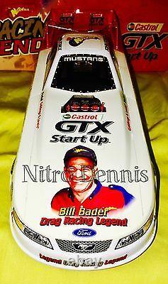 Nhra John Force 116 Action Nitro Funny Car Diecast Norwalk Drag Racing Bader