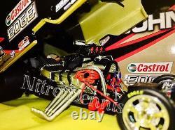 Nhra John Force 124 Diecast Nitro Funny Car Castrol Edge Top Carburant Drag Racing