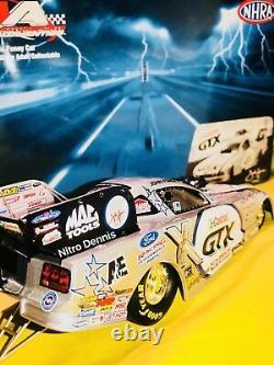 Nhra John Force 124 Diecast Us Nationals Nitro Funny Car Mustang Drag Racing 06
