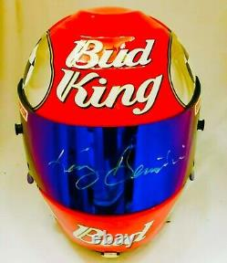 Nhra Kenny Bernstein Casque De Course Funny Car Nitro Rare Drag Racing Top Fuel Rare
