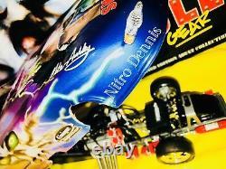 Nhra Mike Ashley 116 Milestone Diecast Nitro Funny Car Skull Drag Racing Rare