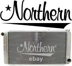 Northern 28 X 16 Stock Car Drag Race Aluminium Racing Radiator Low Profile Nhra