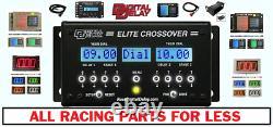 Nouveau Retard Numérique Drag Race Voiture Racing Switch Panel Kit 1036-bw Noir