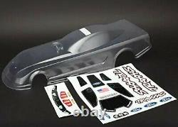 Nouveau Traxxas Body Ford Mustang Clear Decals Funny Car Tra6911 6911 Drag Racing
