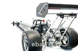 Primal Rc 1/5 Échelle Prête À Fonctionner Dragster Rail Car Zenoah 29cc Gas Engine Drag