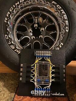 Race Car Fuse / Relais Panneau Bloc 8 Way Custom Universal Lsx Swap Drag Withswitches