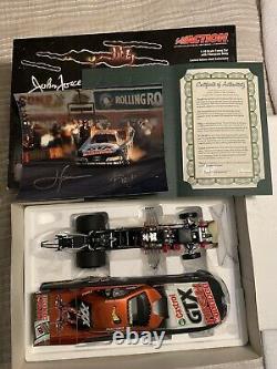 Rare Large 1/16 John Force 2003 Funny Car Diecast Norwalk Halloween Drag Racing